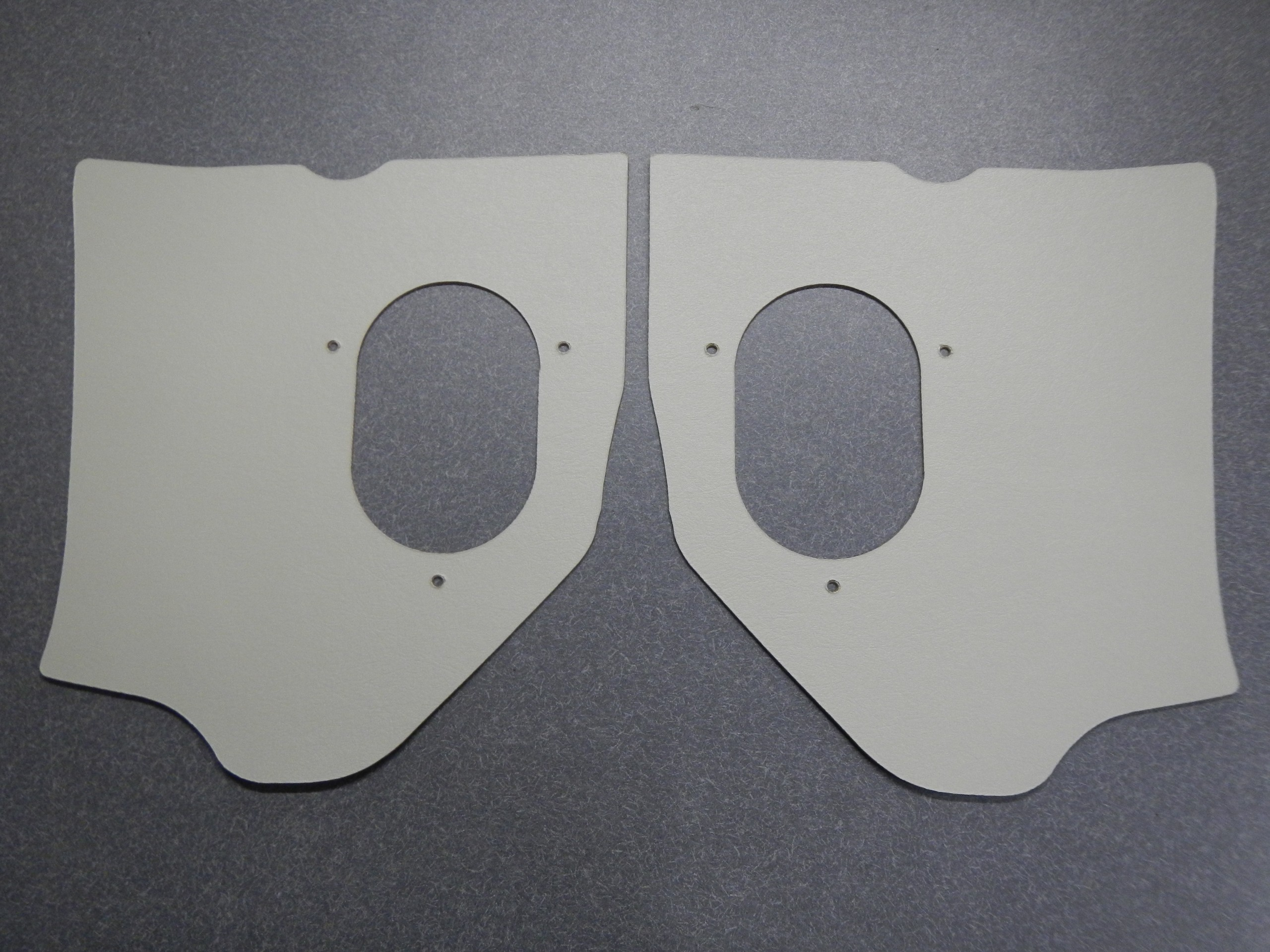 Kick Panels Covers Thick Cardboard Fawn – 1963 Buick
